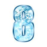 8 alphabet eight number winter ελεύθερη απεικόνιση δικαιώματος