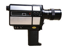 8 appareil-photo millimètre Image libre de droits
