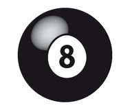 8 Ball vector illustration