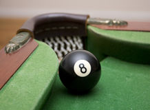 8 Ball and pocket royalty free stock image