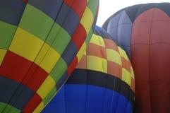 8 ballonger Arkivfoto