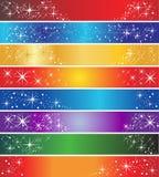 8 banderas del día de fiesta foto de archivo libre de regalías