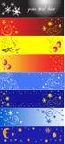 8 banerjul Royaltyfria Bilder