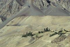 8 berg pakistan Arkivbild