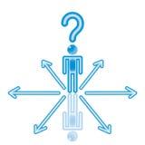 8 blåa val Royaltyfri Bild