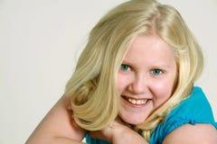 8 blondynów dziewczyna trochę Zdjęcie Royalty Free