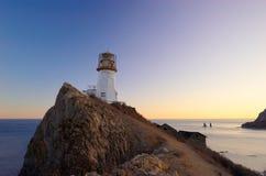 8 brinera przylądka latarnia morska Obraz Royalty Free