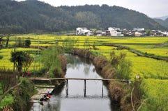 8 chińskich wiosek Obrazy Royalty Free