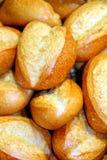 8 chlebowych rolek Fotografia Royalty Free
