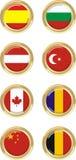 8 countries Stock Photo