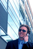 8 człowiekiem biznesu okulary przeciwsłoneczne zdjęcia stock