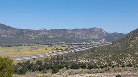 8 d'un état à un autre en Californie méridionale Photo stock