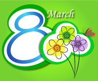 8 de março Fotografia de Stock