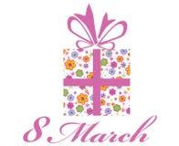 8 de marzo Imágenes de archivo libres de regalías