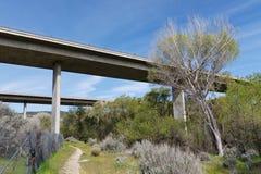 8 de um estado a outro em Califórnia do sul Imagem de Stock