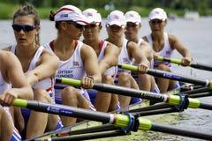 8+ der britischen Frauen Lizenzfreies Stockfoto