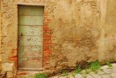 8 drewniane drzwi stary Toskanii Obraz Royalty Free