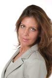 8 dyrektora zarządzającego piękna kobieta Fotografia Royalty Free