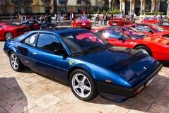 8 dzień Ferrari mondial przedstawienie Obraz Royalty Free