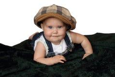 8 engraçados bebê mês-velho Imagens de Stock