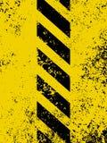 опасность 8 eps grungy stripes несенная текстура Стоковое Изображение