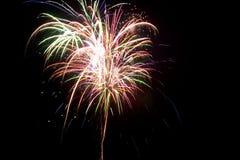 8 fireworks στοκ φωτογραφίες