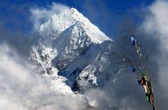 8 himalaya som trekking Arkivbild