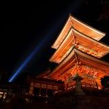 8 jesień złoty Kyoto Obraz Royalty Free