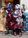 8 karneval venice Royaltyfria Bilder