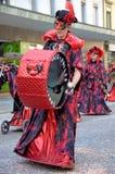8 karnevalschweizare Royaltyfri Bild