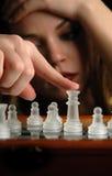 8 kawałków szachowych Fotografia Royalty Free
