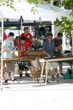 8 luglio 2010: Musica esterna di prestazione. Immagini Stock