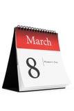 8. März Stockbilder
