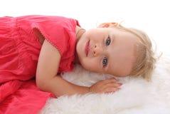 8 mała piękna dziewczyna Fotografia Stock