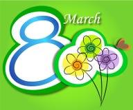 8 maart Stock Fotografie