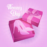 8 March International Women Day Greeting Card Royalty Free Stock Photos