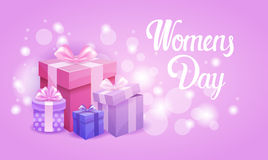 8 March International Women Day Greeting Card Royalty Free Stock Photo