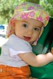 8 meses de bebé idoso Fotografia de Stock Royalty Free