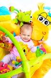 8 meses del bebé Foto de archivo libre de regalías
