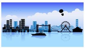 8 miastowy royalty ilustracja