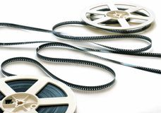 8 Millimeter-Filmstreifen Stockfoto