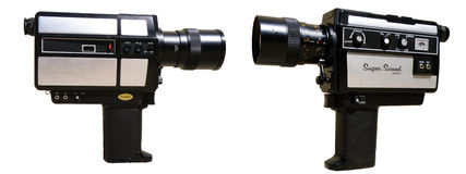 8 Mm Camera Stock Photography