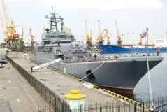 8 mogą rosyjski Odessa militarny statek Ukraine Obrazy Royalty Free