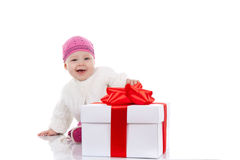 8-Monats-Kind Lizenzfreies Stockbild