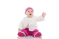 8-Monats-Kind Lizenzfreies Stockfoto