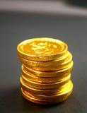 8 mynt royaltyfri foto