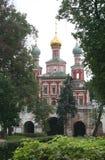 8 novodevichy的女修道院 免版税图库摄影