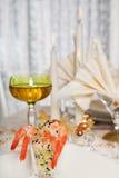 8 obiadowy elegancki stół Obrazy Stock