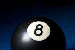 8 piłka Obraz Stock