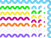 8 ric för rac för droppeps-stycken klara till vektorn dig Royaltyfri Foto